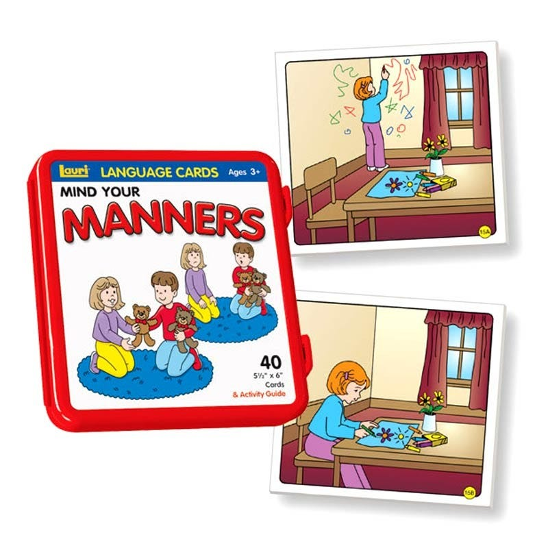 Photo Language Cards - Mind Your Manners