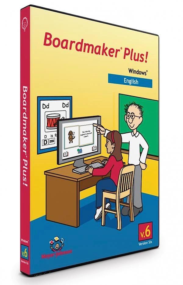 Boardmaker Plus with 2000-2012 Addendum