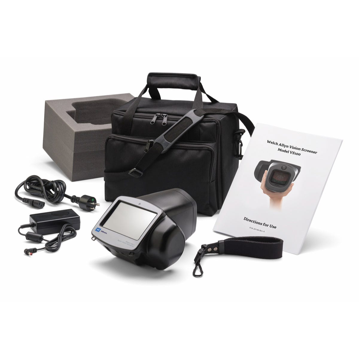 Welch Allyn Spot Vision Screener with Carry Case and a 5-year Partners in Care Warranty