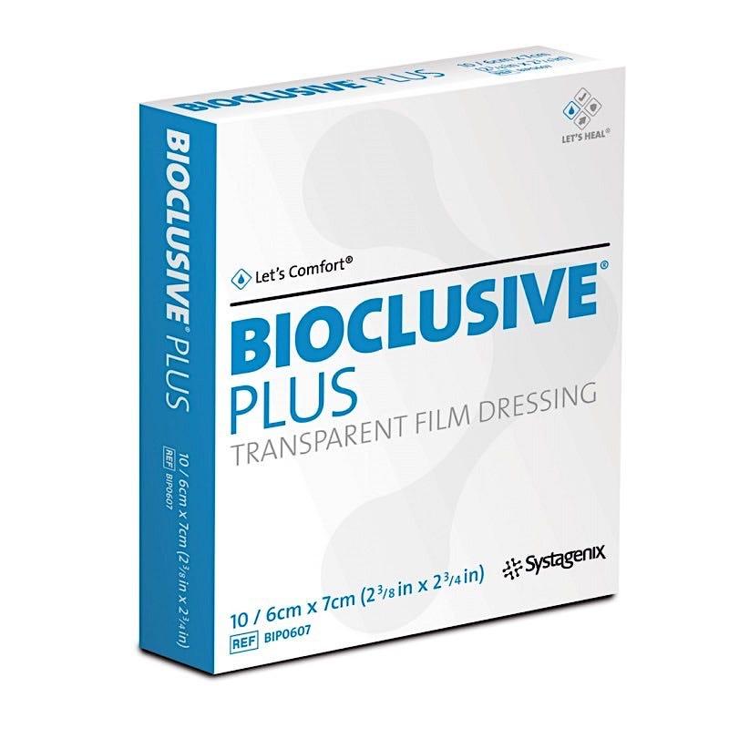 "BIOCLUSIVE PLUS, 2 3/8""X2 3/4"", 100/box"