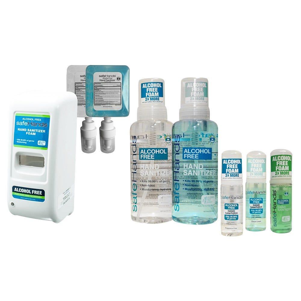safeHands Alcohol Free Foam Hand Sanitizers