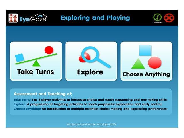 Eyegaze Exploring and Playing Software