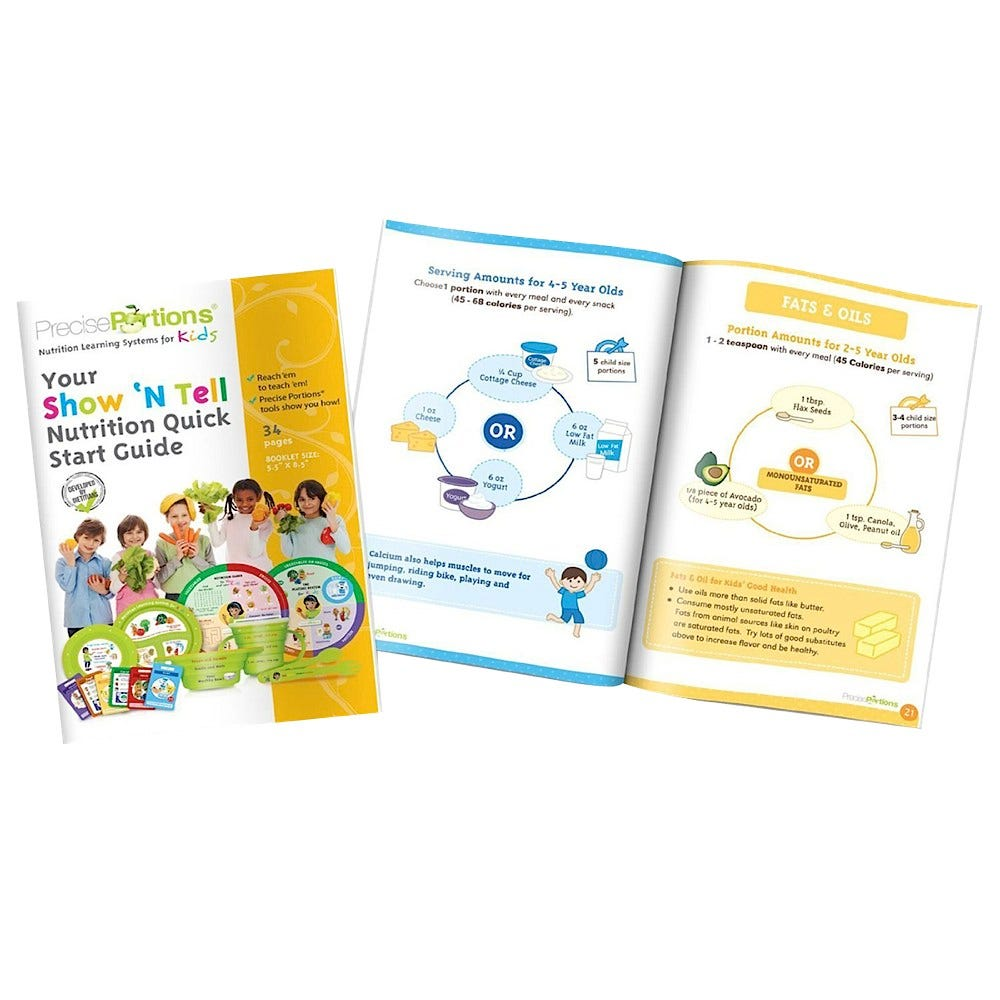 Show 'N Tell E-Z Nutrition Fun Facts Pack