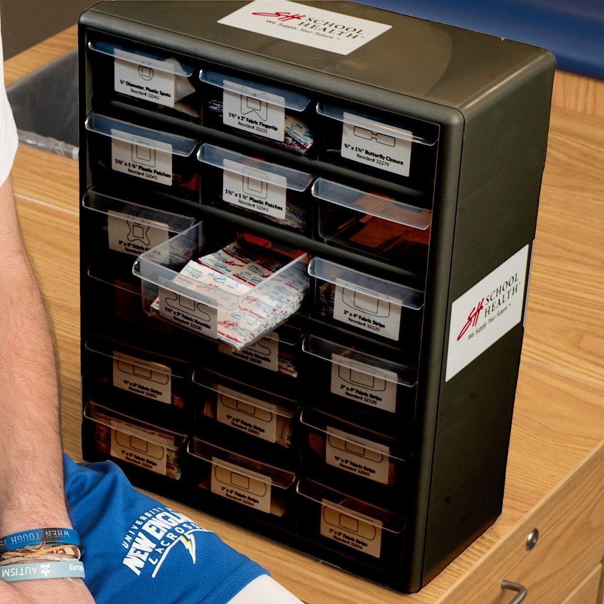 School Health Adhesive Bandage Cabinets