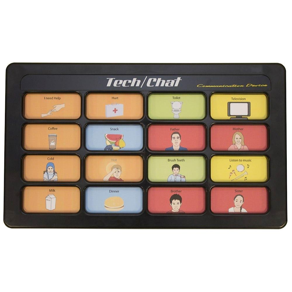 Tech/Chat 16 6-Level Communication Devices
