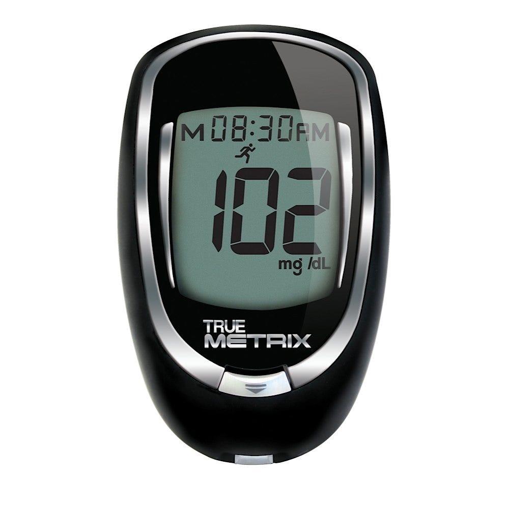 True Metrix Self-Monitoring Blood Glucose Meter and Strips