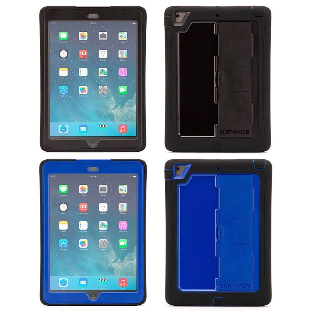 "Survivor Slim iPad Cases for iPad Air / Air 2 / 5th Gen / 6th Gen / Pro 9.7"""