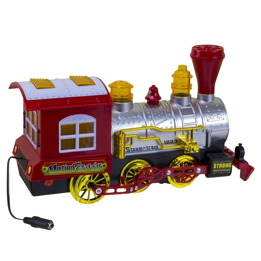 Bump & Go Bubble Train Switch Adapted Toy