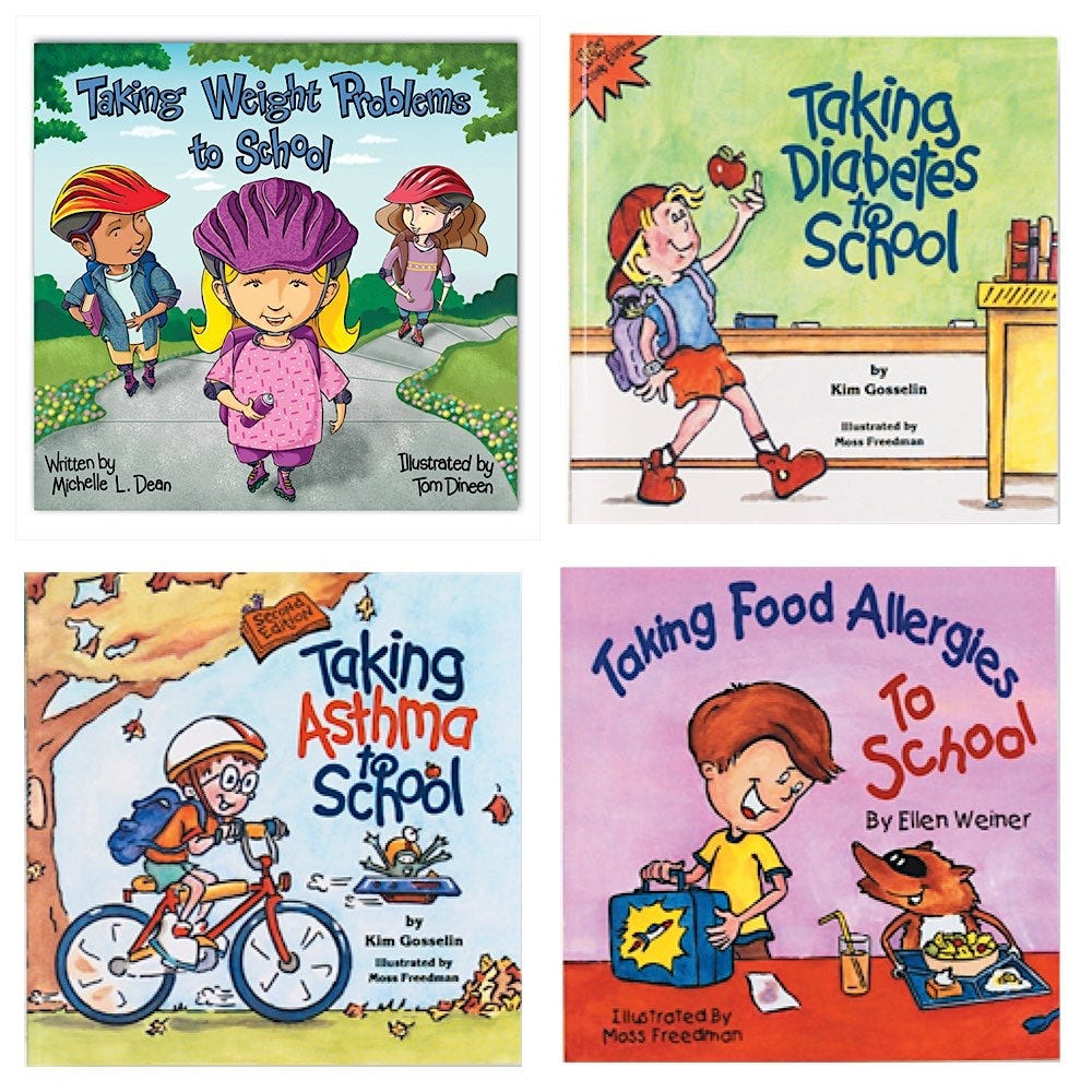 Taking Your Condition to School 4-Book Set