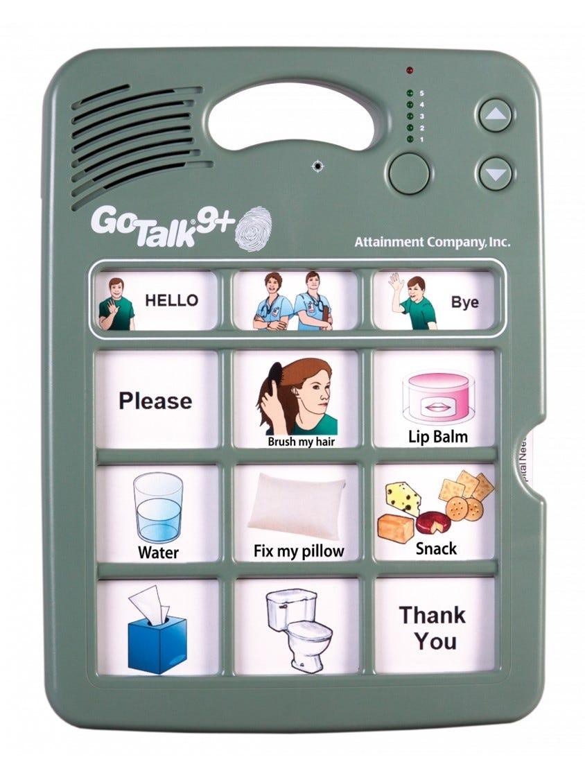 Attainment GoTalk 9+ Lite Touch