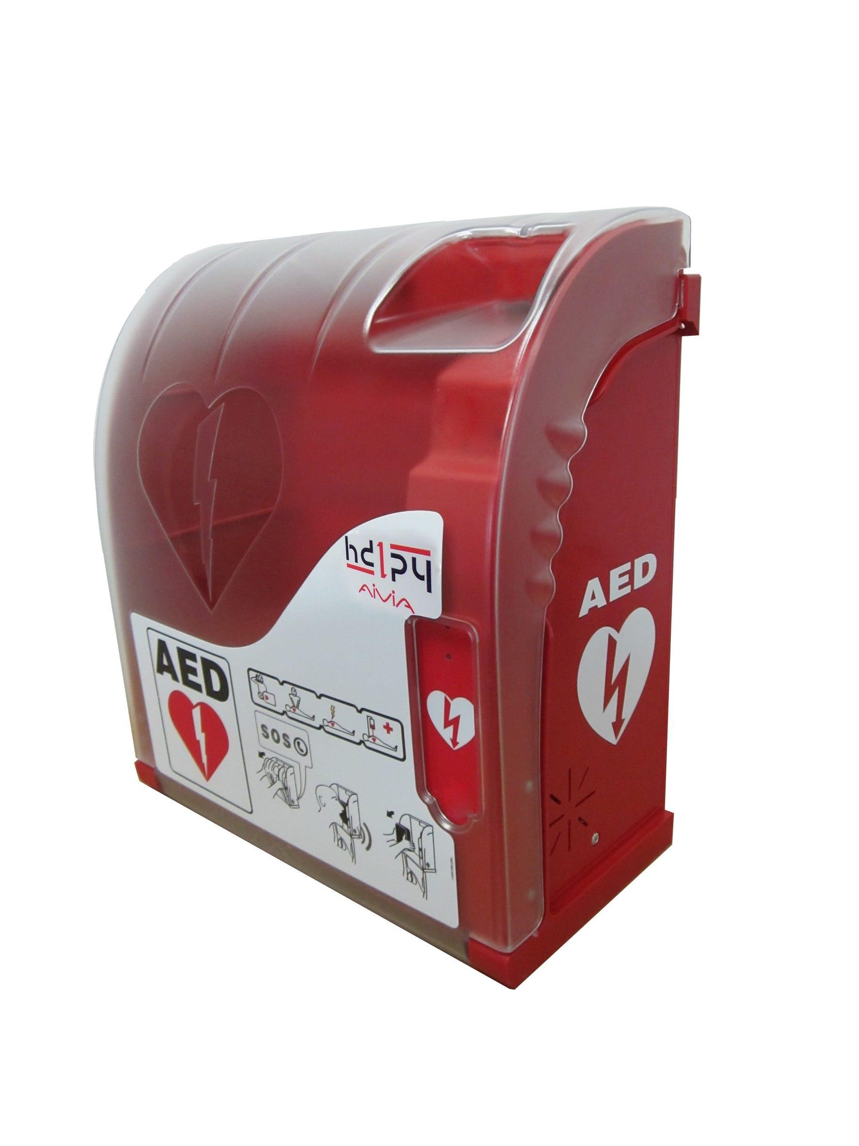 School Health 50 Basic AED Cabinet