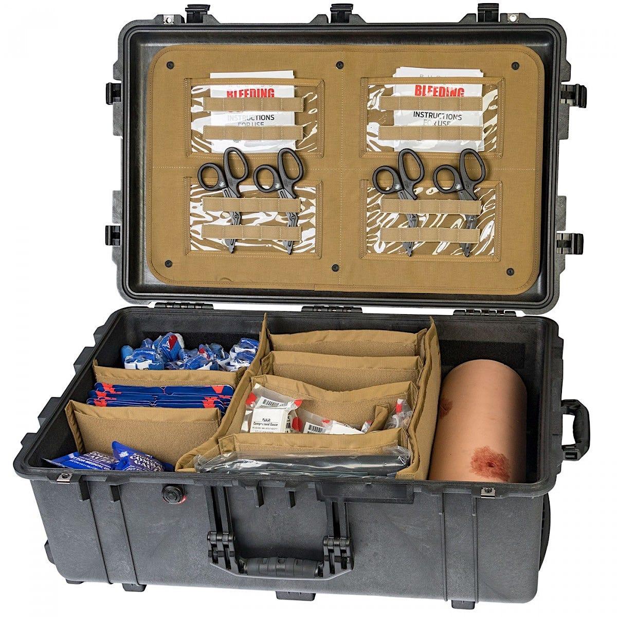 Bleeding Control Skills Training Kit - Advanced with Wound Packing Simulator