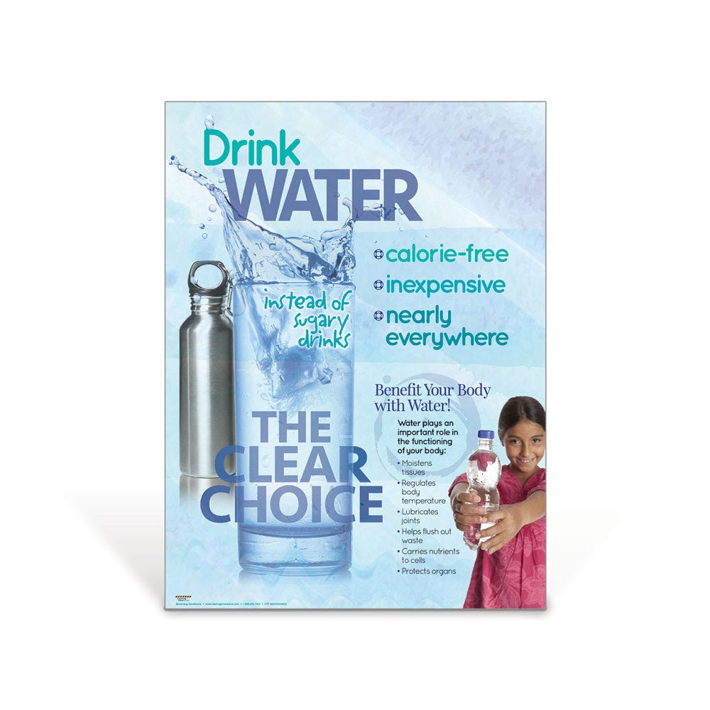 Drink Water Poster & Handouts