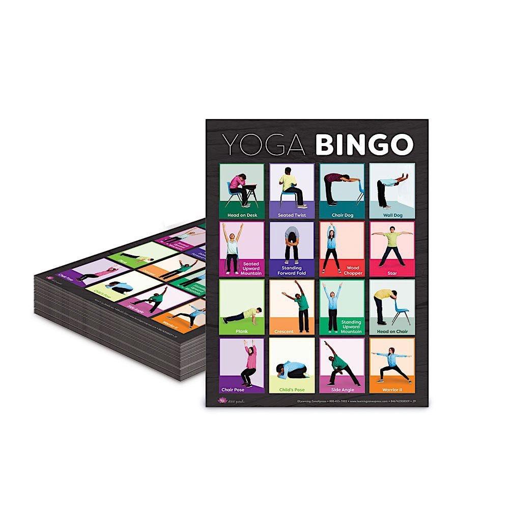 Yoga Bingo