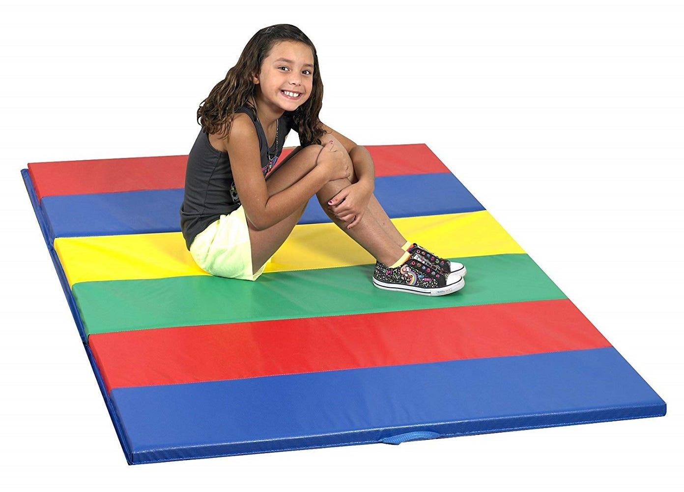Rainbow Folding Floor Mats