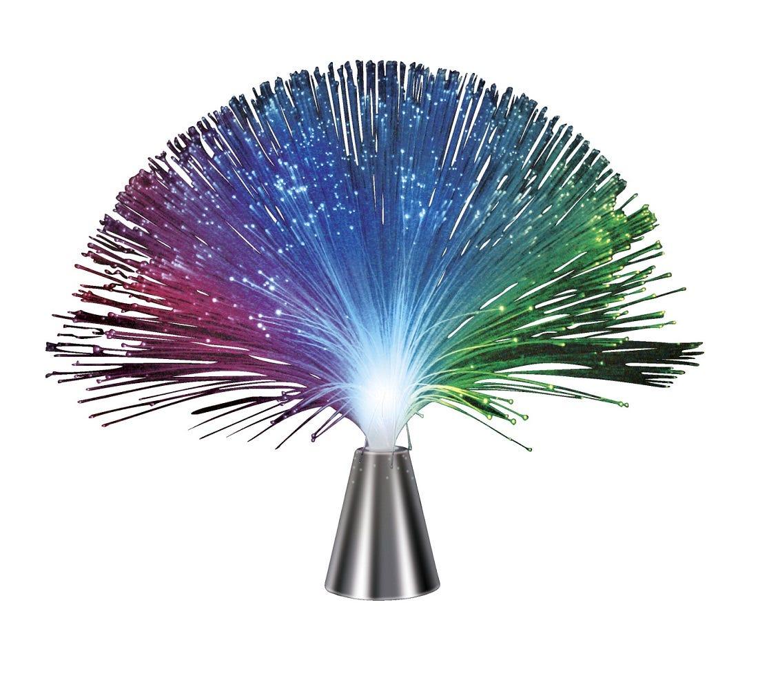 Vibrating Fiber Optic Light