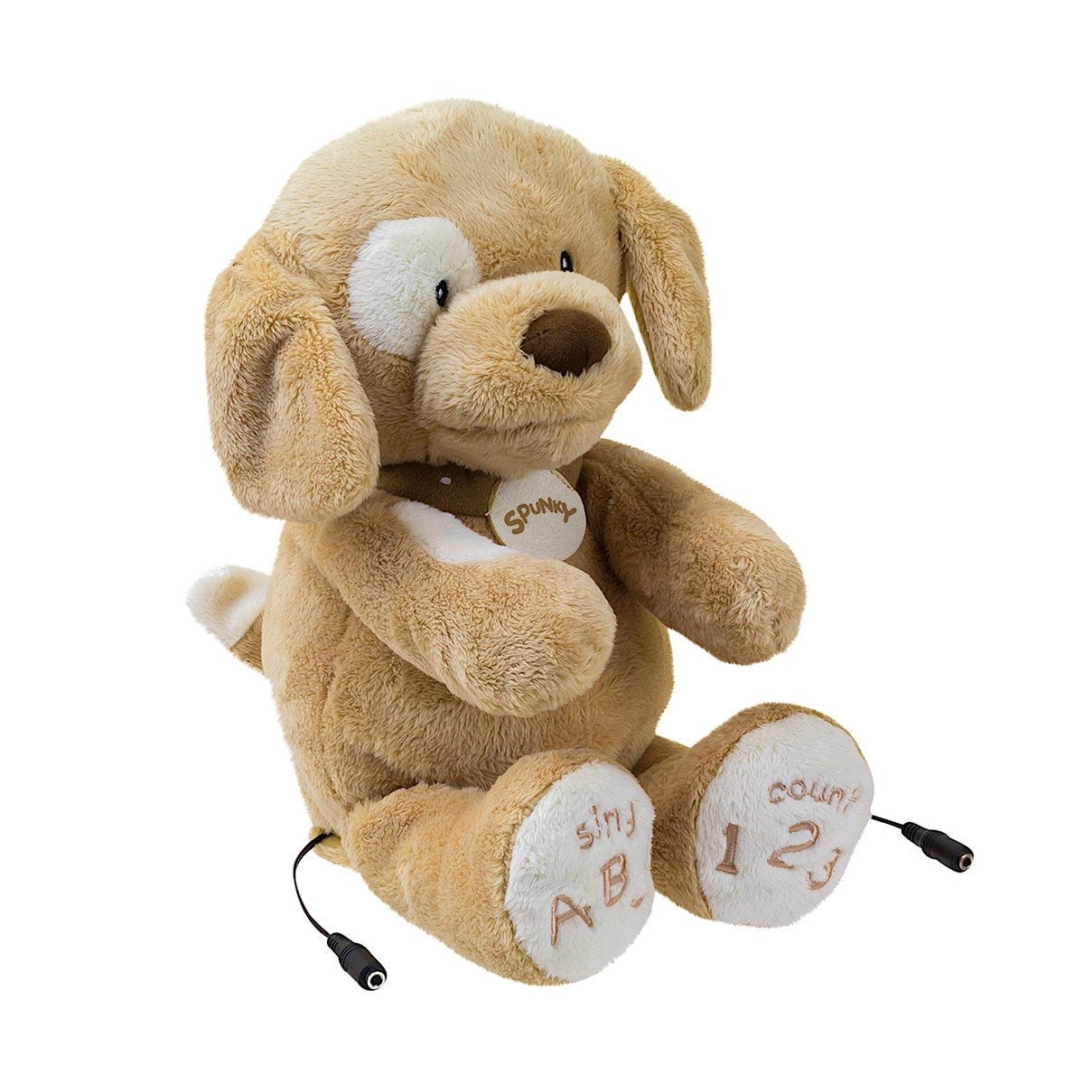 ABC 123 Spunky Dog Switch Adapted Toy