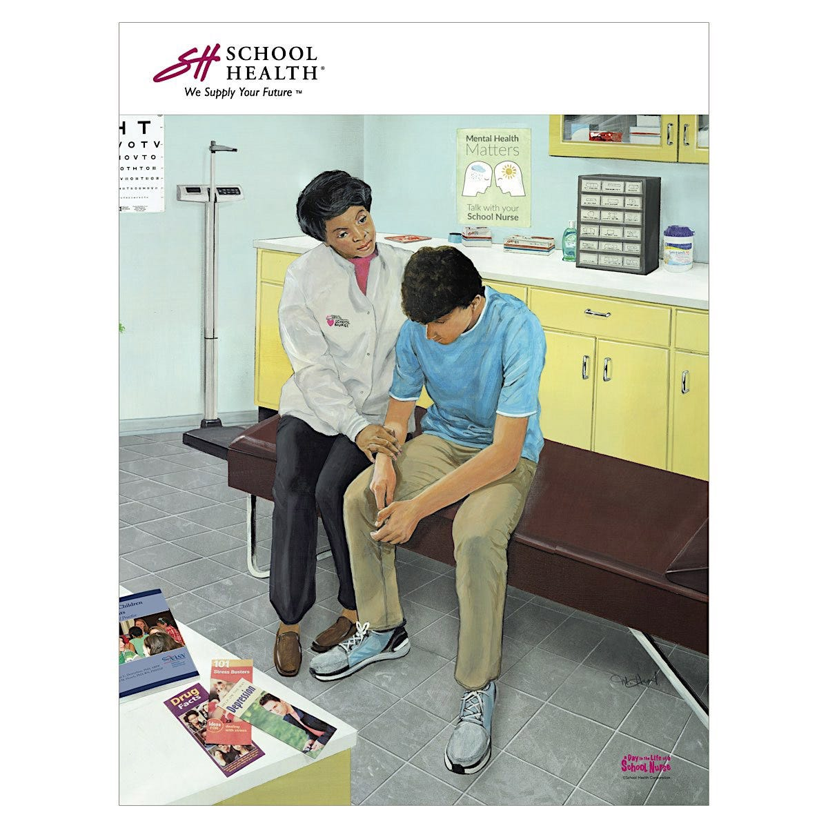 2020 School Health Catalog Cover Poster Series