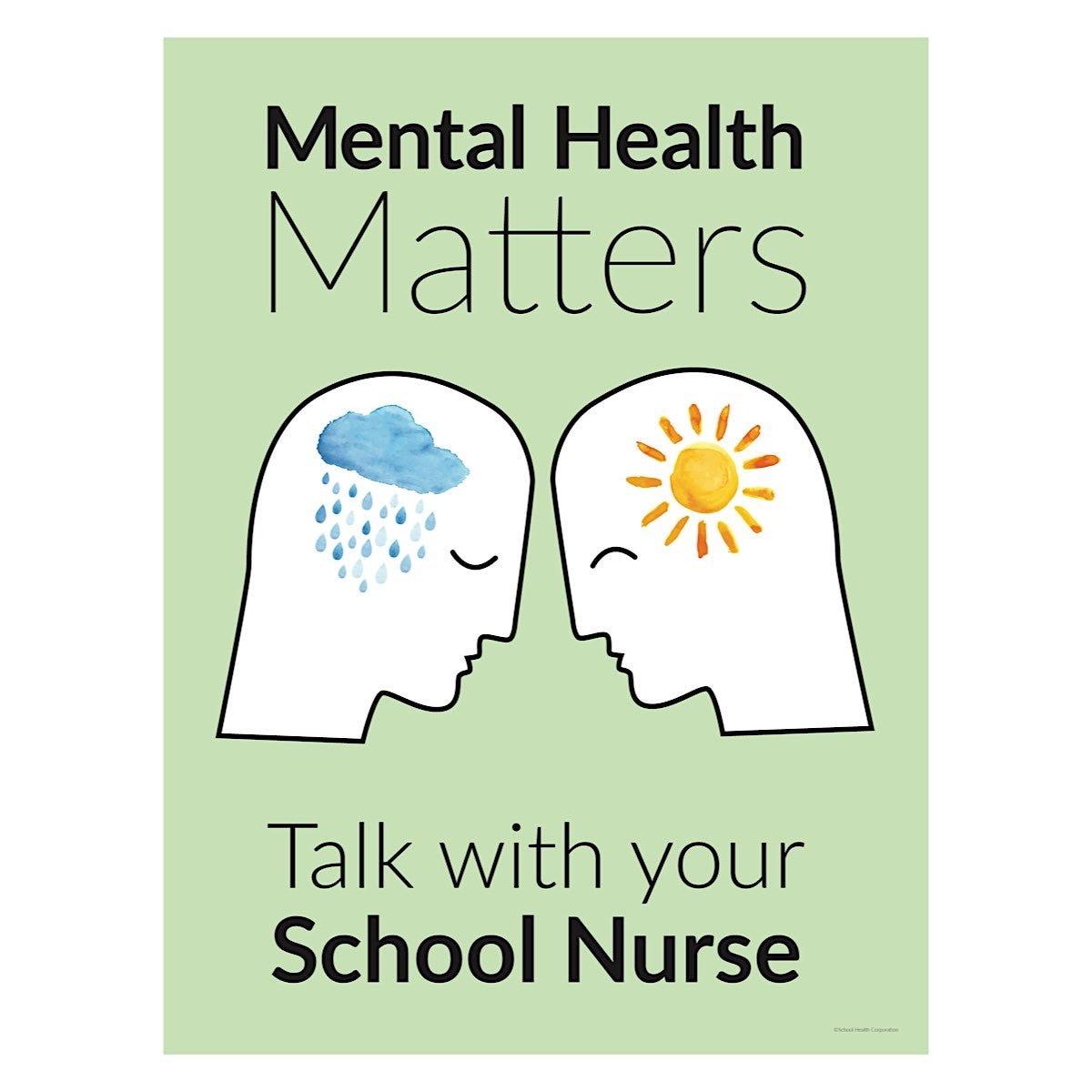 School Health Mental Health Matters Poster