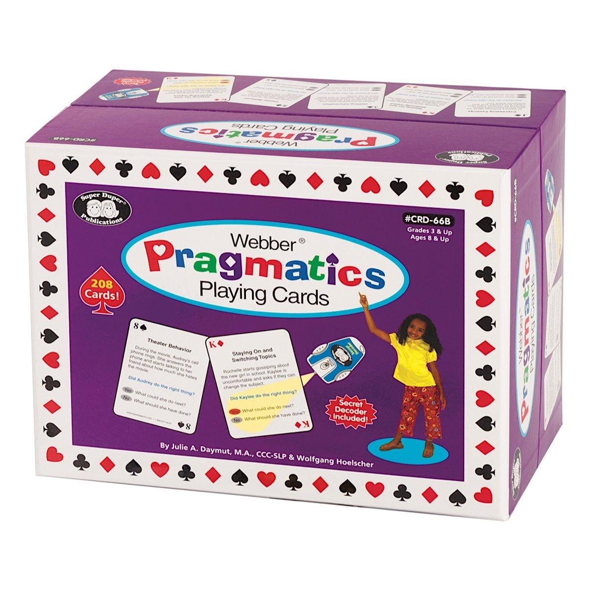 Webber Pragmatics Playing Cards 4 Decks