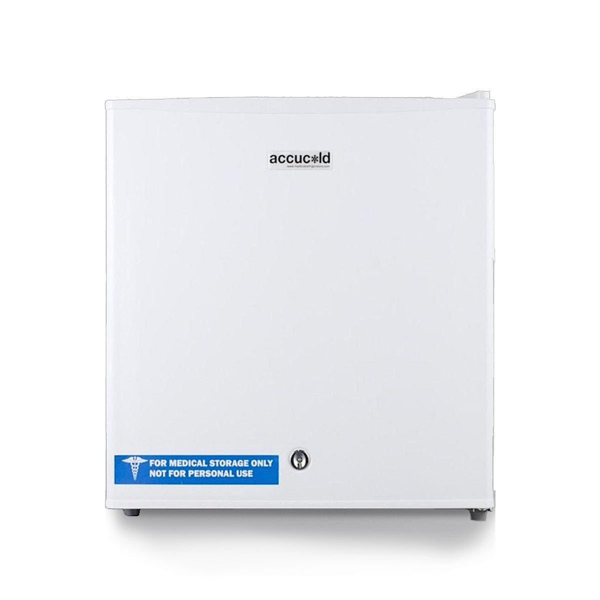 Summit 1.8 Cu. Ft. Refrigerator, Manual Defrost with Lock