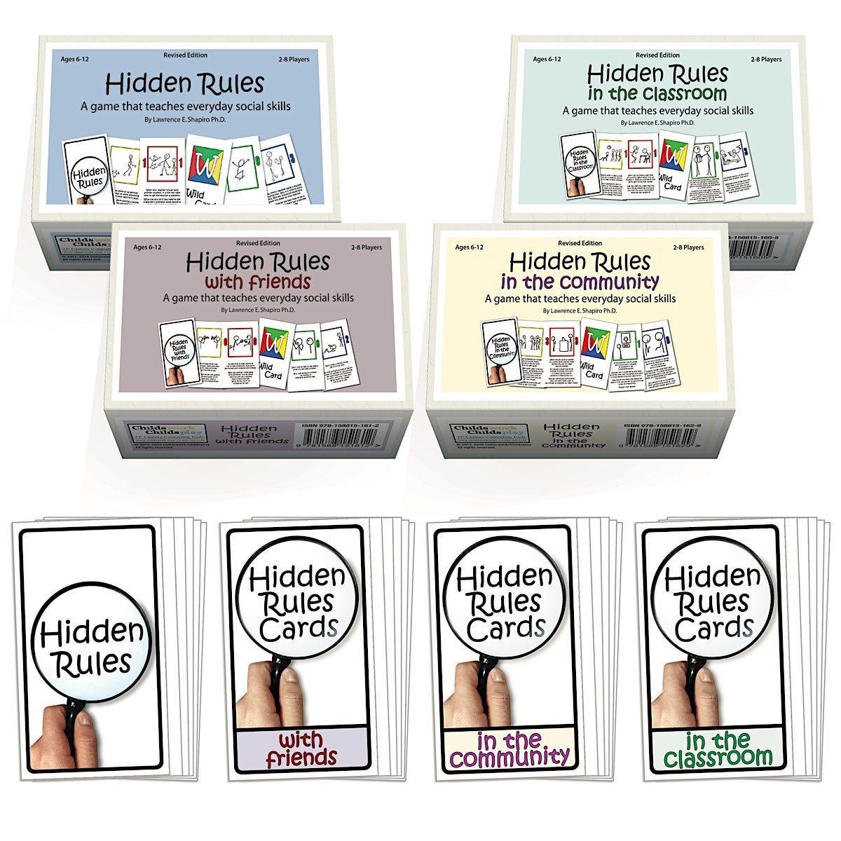 Hidden Rules Card Games
