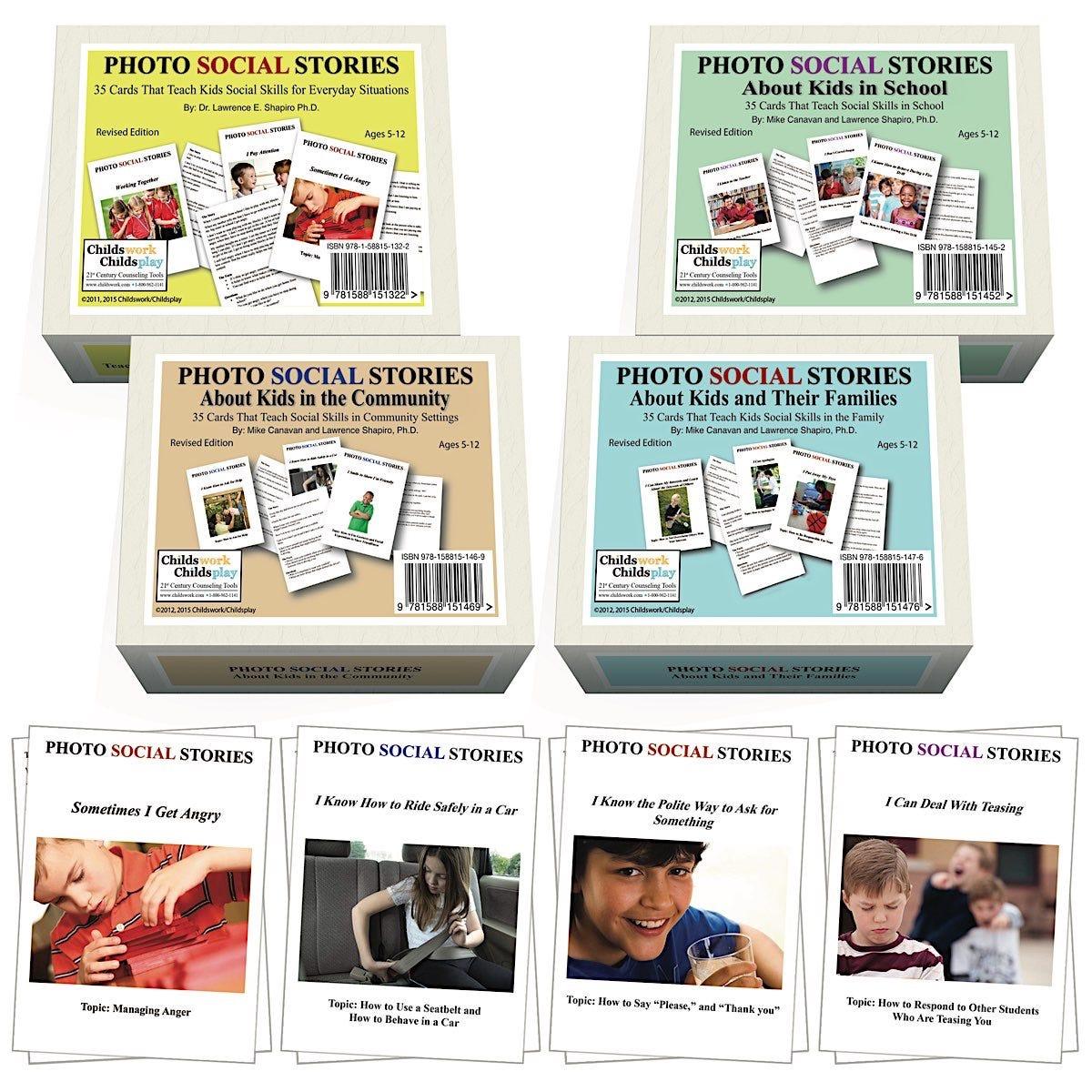 Photo Social Stories Card Games