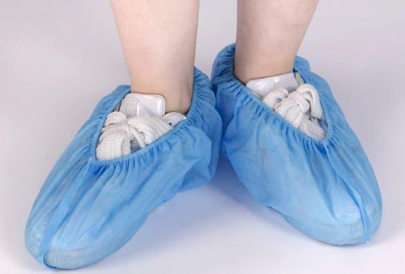 Non Woven Shoe Covers, 100/Bag