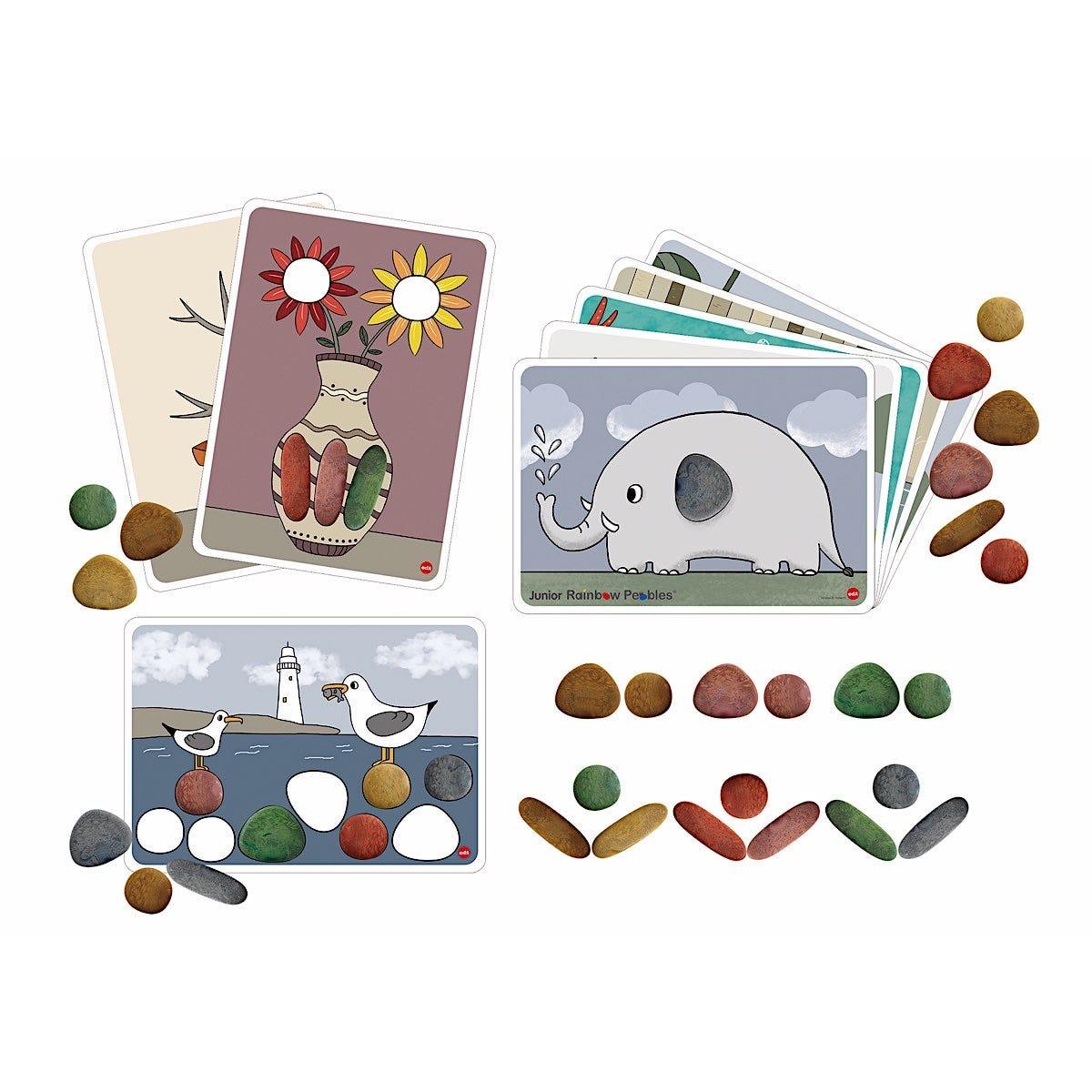 Rainbow Pebbles Activity Set Junior Eco-Friendly
