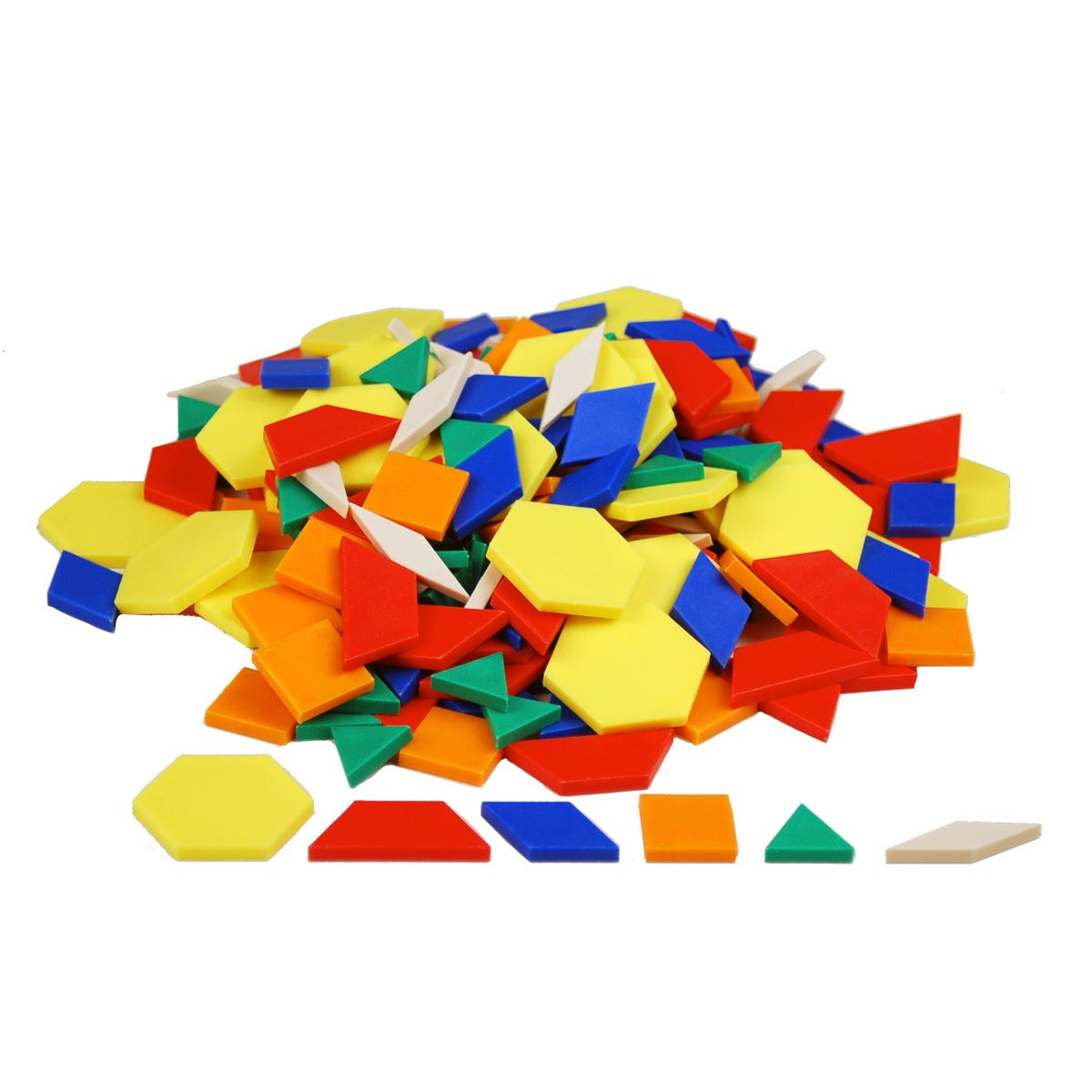 Pattern Blocks and Pattern Blocks Cards