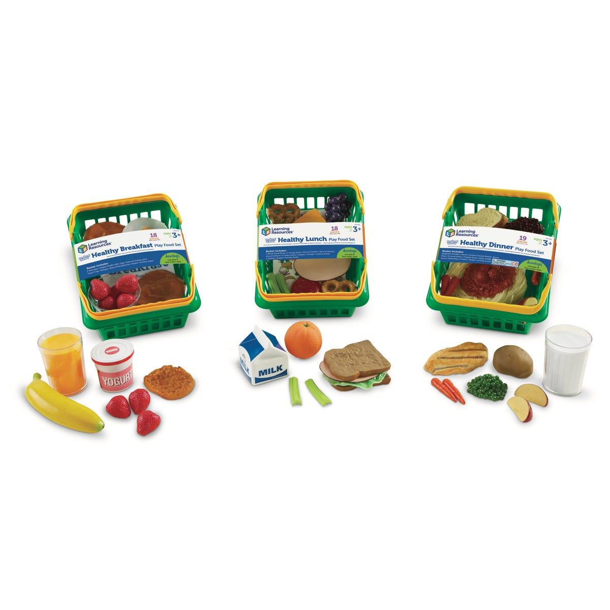 Pretend & Play Healthy Foods Play Set Bundle