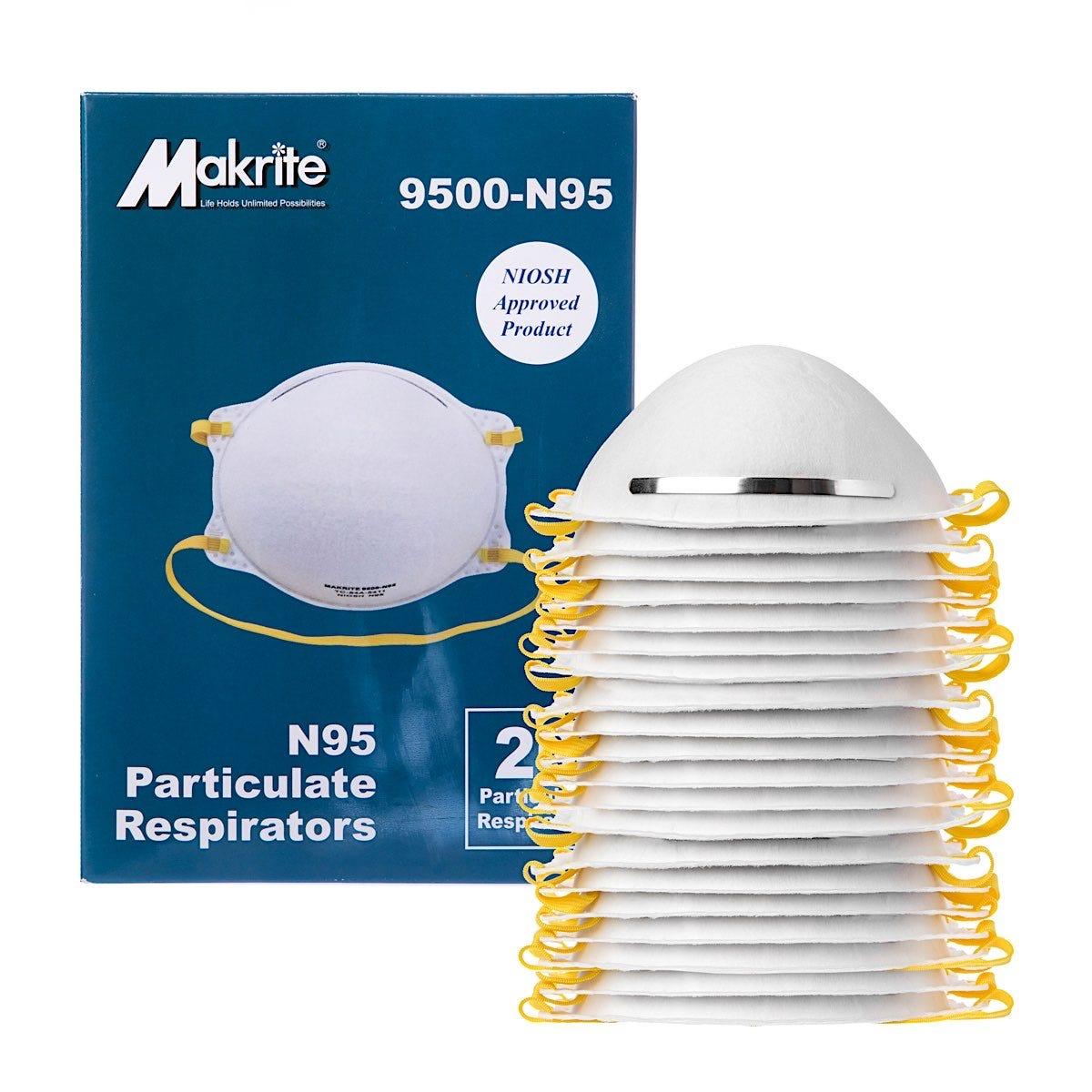 N95 NIOSH Certified Mask, 20/Box