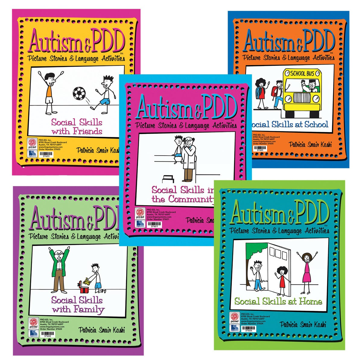 Autism & PDD Picture Stories & Language Activities Social Skills