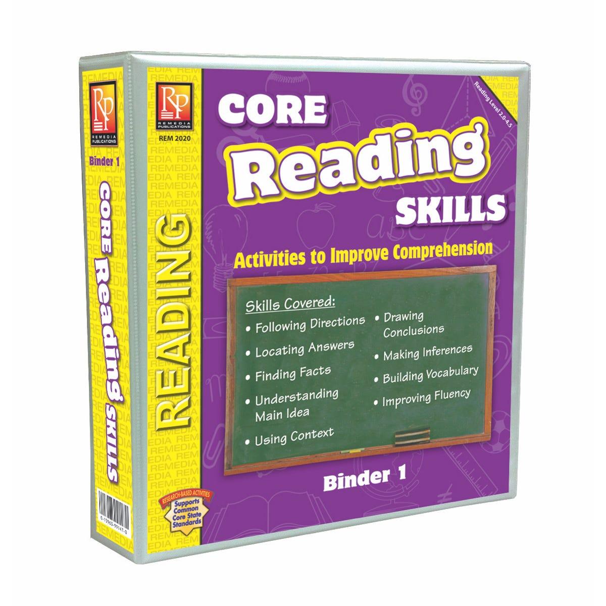Core Reading Skills Program