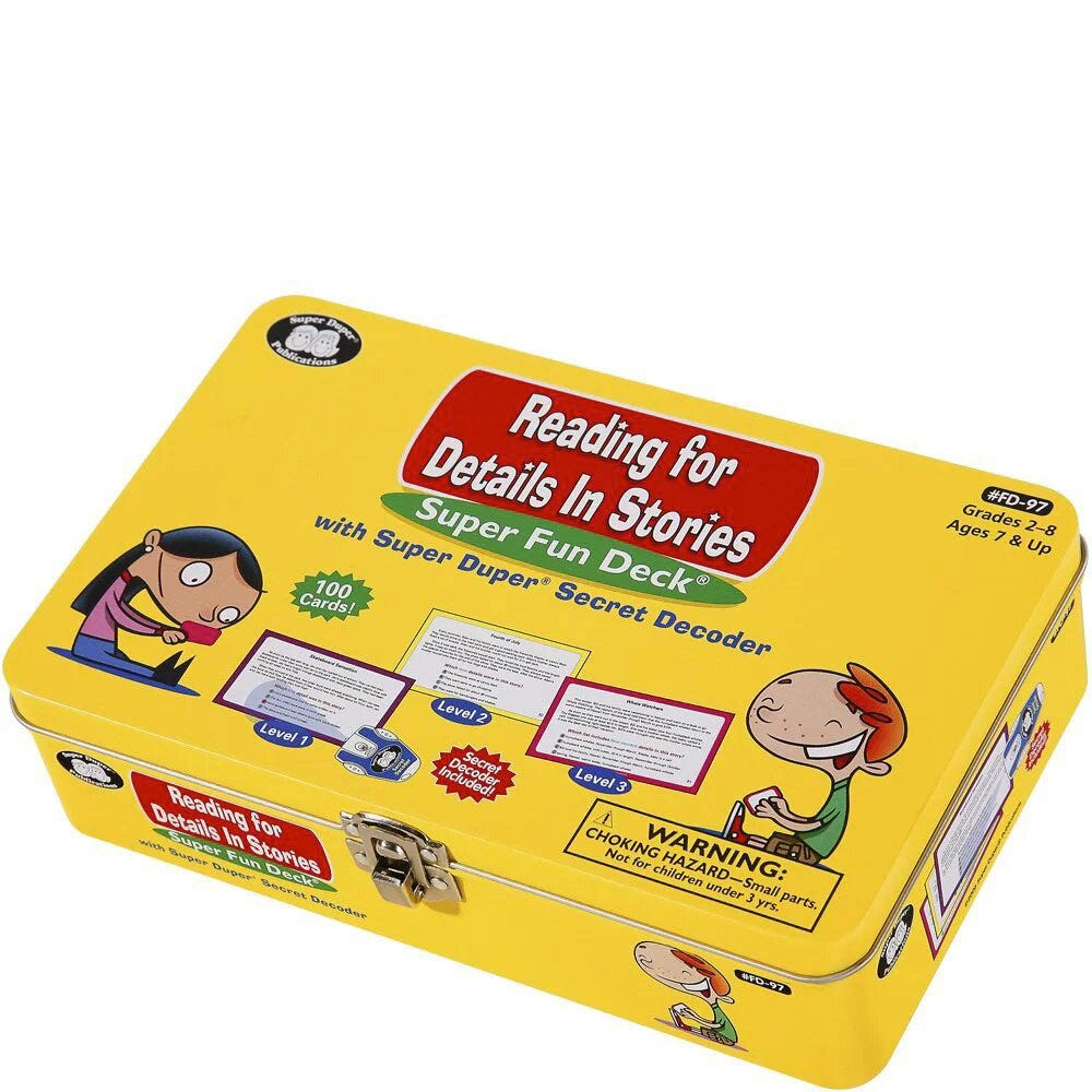 Reading for Details in Stories Fun Deck