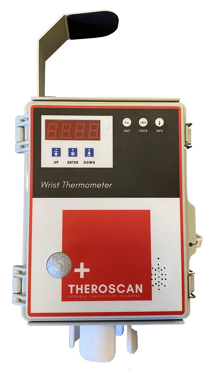 Theroscan Infrared Wrist Thermometers