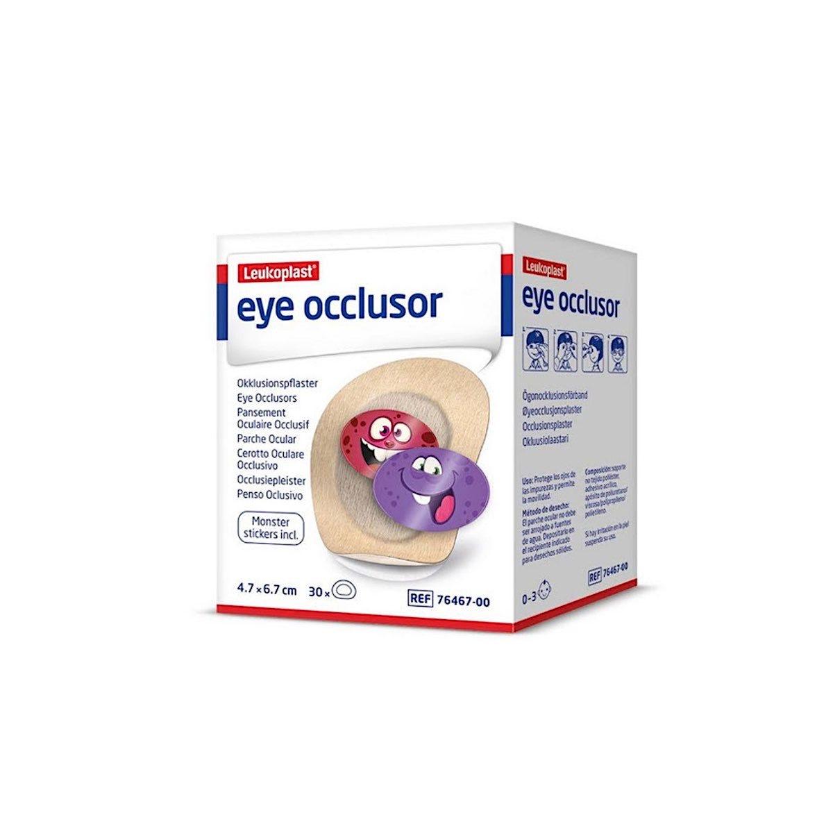 Leukoplast Eye Occlusers