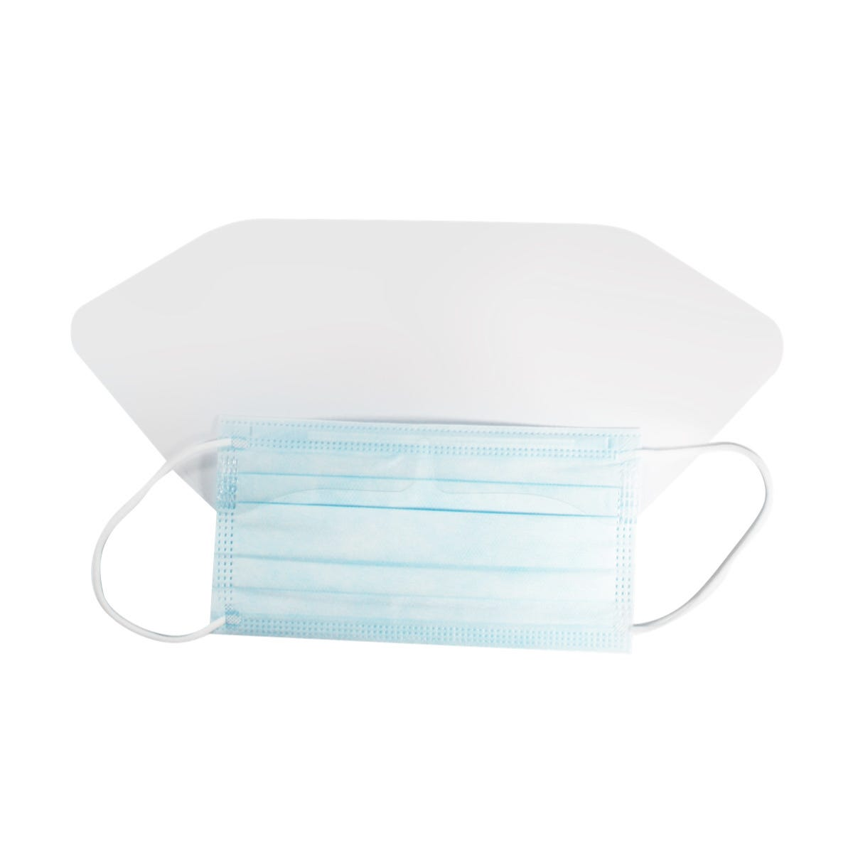 Surgical Mask with Eye Shield, 25/case