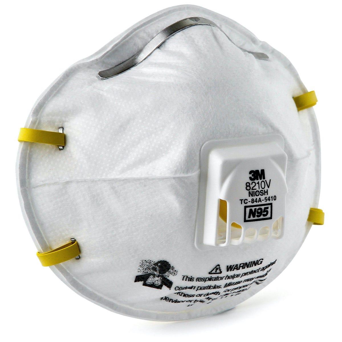 N95 Particulate Respirator, 160/Case