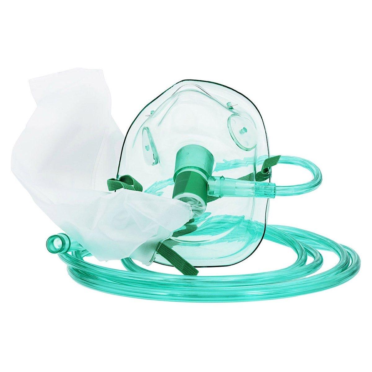 Curaplex®  Non-rebreather Oxygen Mask - Adult or Pediatric