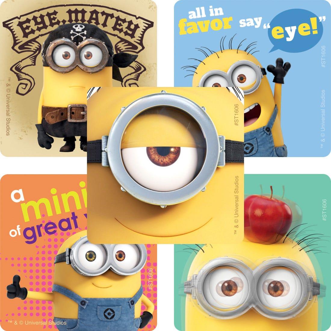 Minions Eyecare Stickers