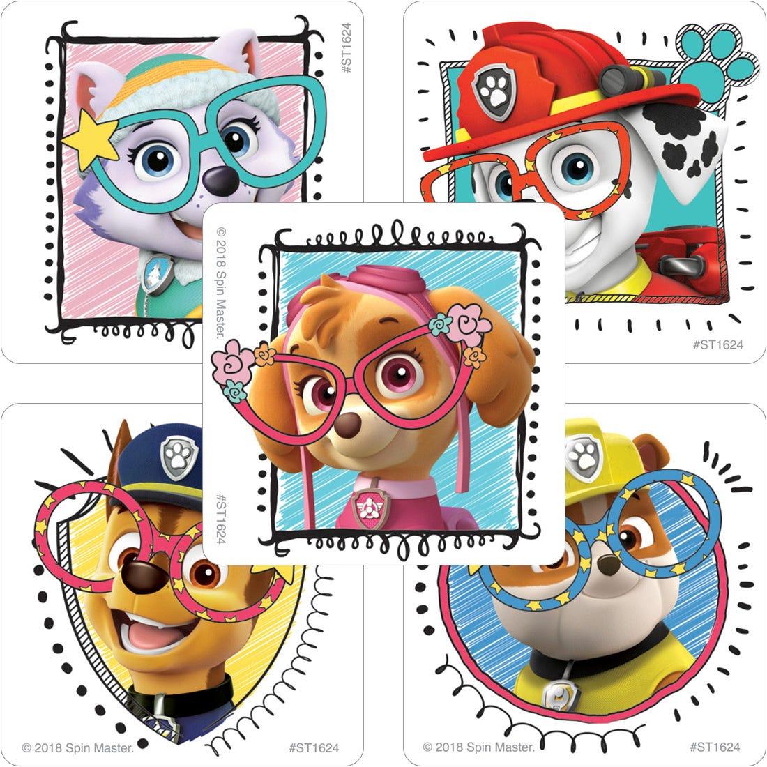 Paw Patrol Vision Stickers