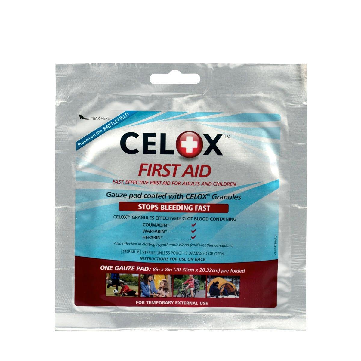 """CELOX  8"""" X 8"""" Gauze Pad"""