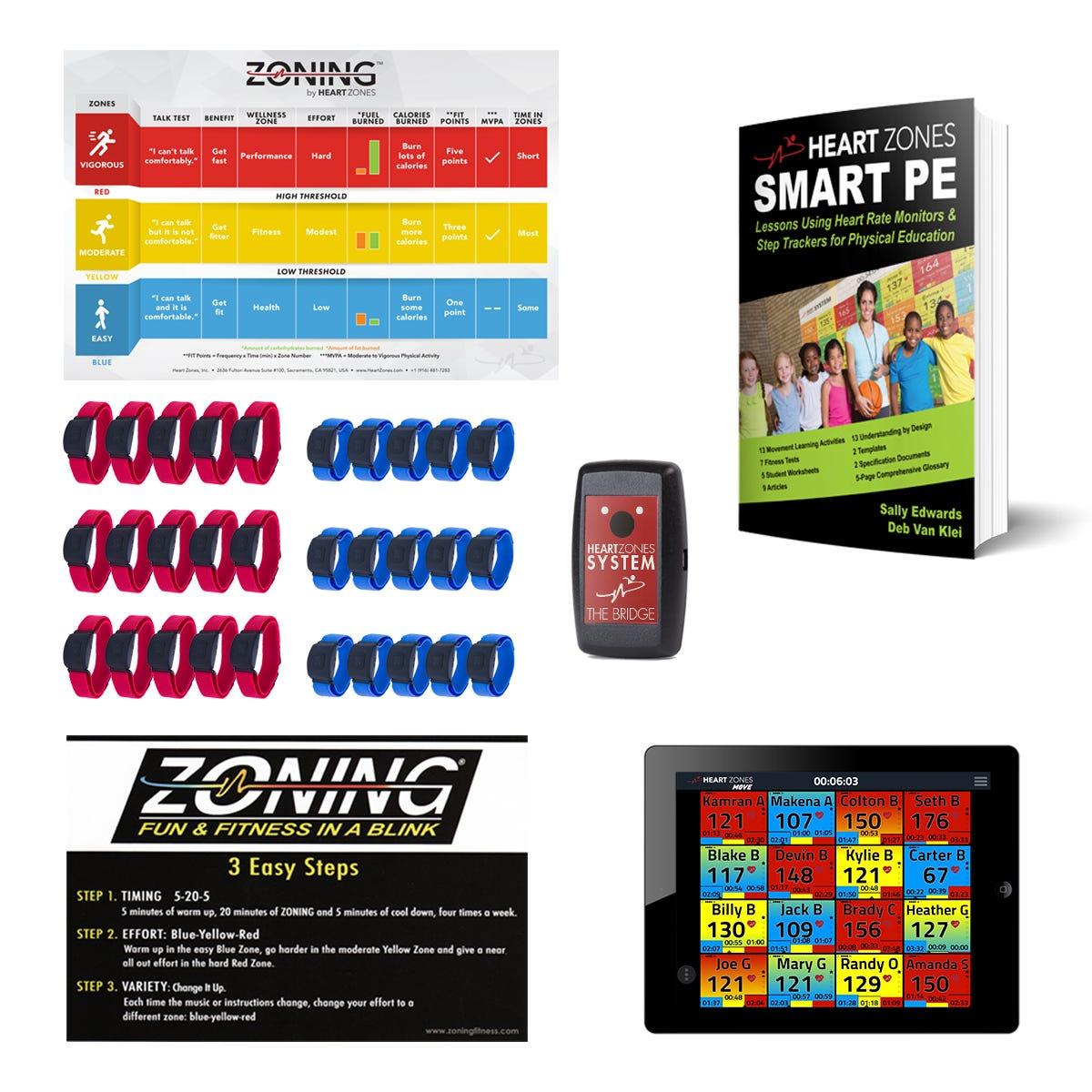 Heart Zones 30 Sensor Pack