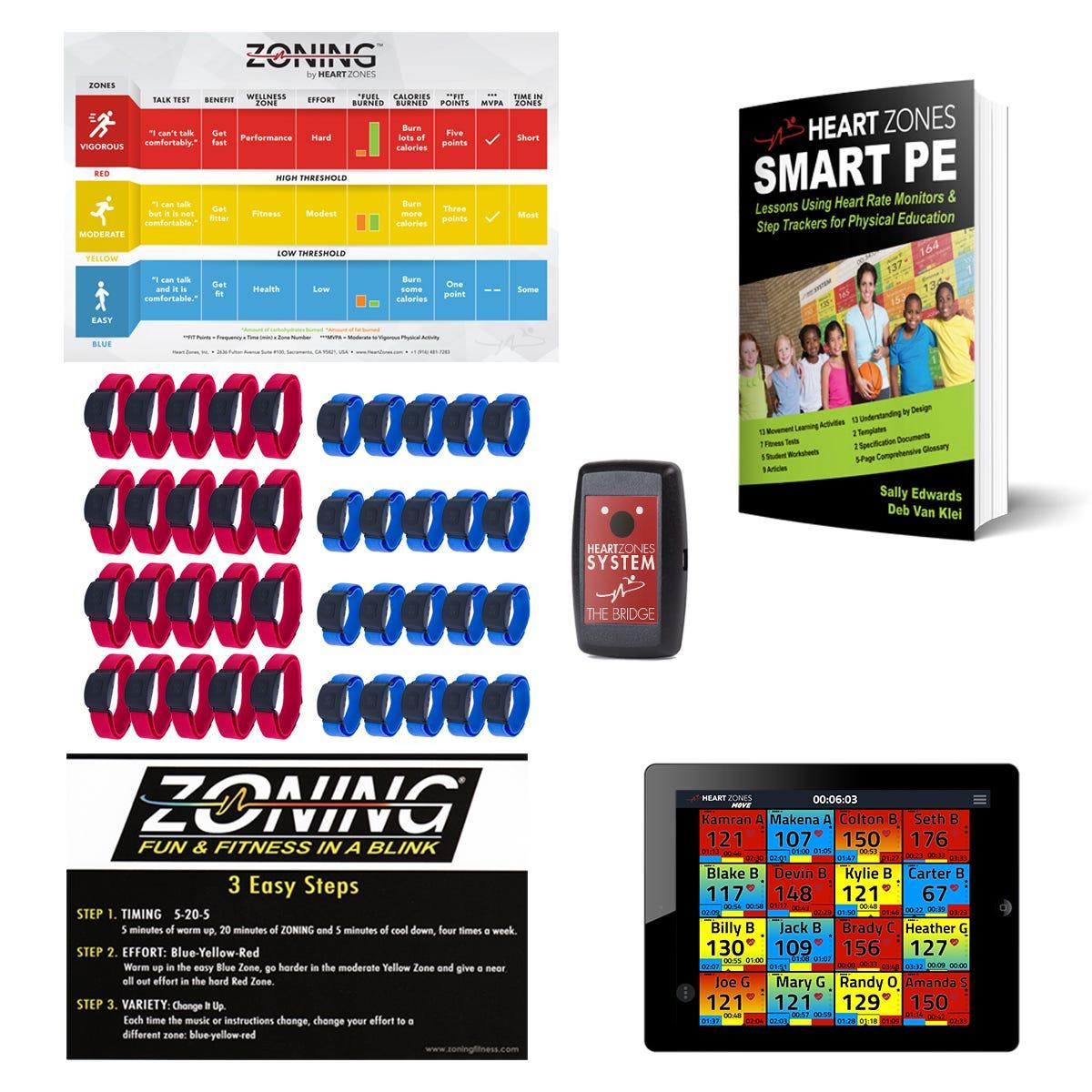 Heart Zones 40 Sensor Pack