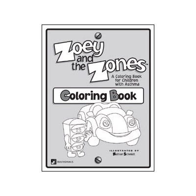 Zoey and the Zones Coloring Book