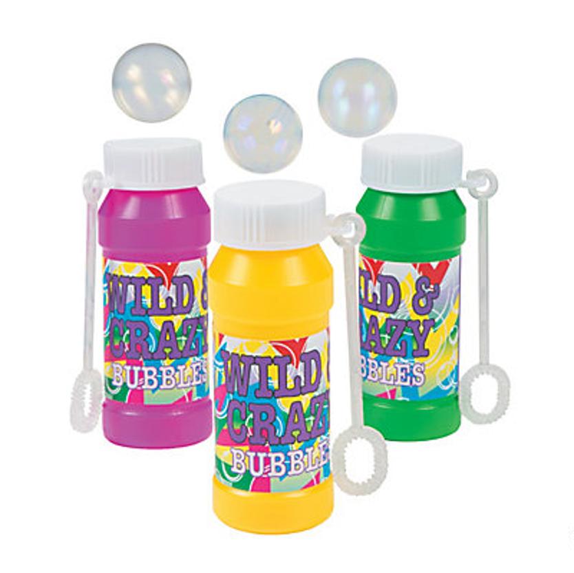 Bubble Bottles, Set of 12