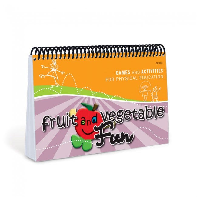 Fruit and Vegetable Fun Book for Physical Education