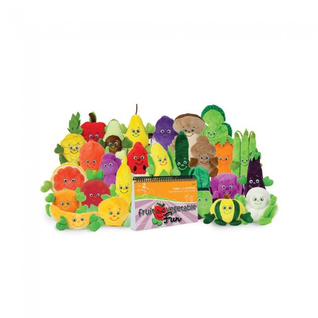 Fruit and Vegetable Fun Book with Garden Heroes