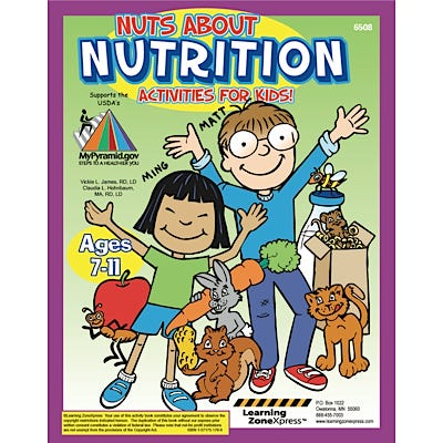 Nuts about Nutrition Activity Books, Set of 12